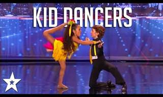 The Best Child Dancers From Around the World!