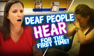 Touching: When Deaf People Heard Sound for the First Time