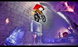 Ride Through a Giant Igloo