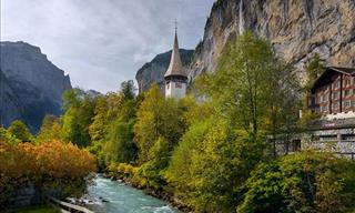 A Photo Series and Video of Lauterbrunnental Valley