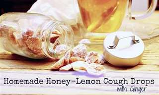 Soothe Your Throat With Homemade Honey Cough Drops