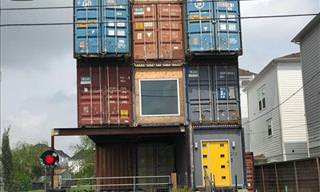 Will Breaux, Proud Owner of This Shipping Container House