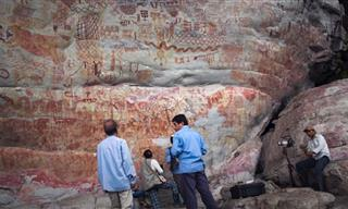 12,500-Year-Old Cave Paintings Found in Western Amazonia