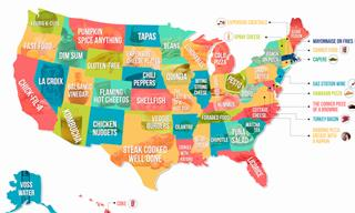 Which Food Does Every US State Love and Hate the Most?