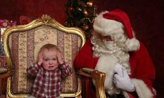 Hilarious Pics With Santa to Put You in a Jolly Mood
