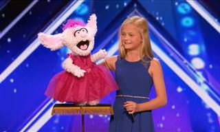 Darci Lynne's Ventriloquism Act on America's Got Talent