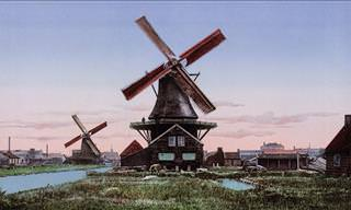 33 Vintage Postcards of the Netherlands