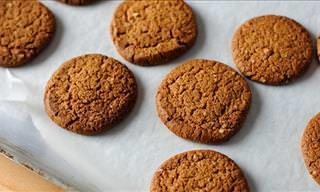 How to Make Ginger Snap Biscuits