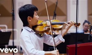 Child Prodigy Plays Vivaldi's Four Seasons
