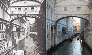 Then & Now: How 15 Famous European Landmarks Have Changed