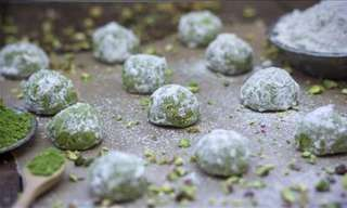 Bake Sweet and Nutty Russian Green Tea Cookies