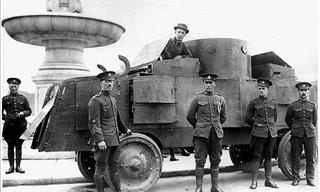 11 of the Weirdest Armored Vehicles From WWI