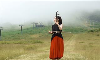 A Memerising Musical Piece Played on an Erhu