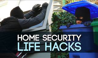 10 Quick and Simple Home Security Life Hacks!
