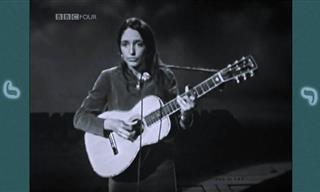 Hear Joan Baez Enthrall the Audience With Her Dulcet Voice