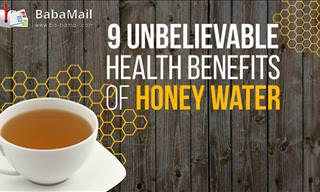 9 Reasons Why Honey Water is Good for You