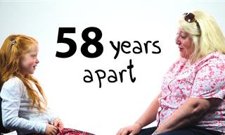 58 Years Apart: A Girl and a Woman Talk About Life