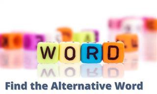 QUIZ: Find the Alternative Word!