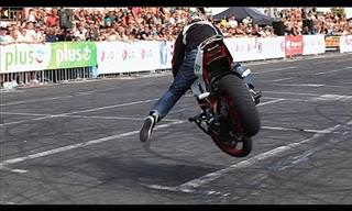 Insane Motorbike Stunts