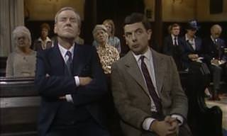 CLASSIC COMEDY: Mr. Bean at Church