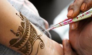 30 Designs and Patterns of the Traditional Artform, Mehndi