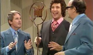 When Tom Jones Met a Pair of Comedians - Hilarious!
