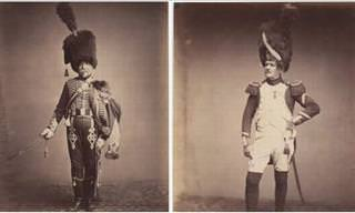 Photos of Veterans from the Napoleonic Wars