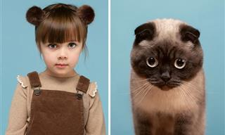 14 Cat People and Their Purrfect Pet Lookalikes