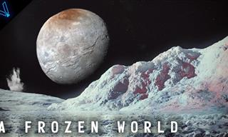 An Artist's Impression of What Pluto Might Look Like