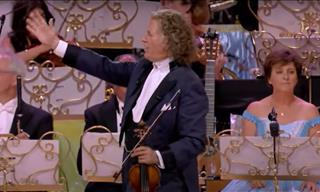 Rocco Granata & André Rieu in a Lively Rendition of Macarena