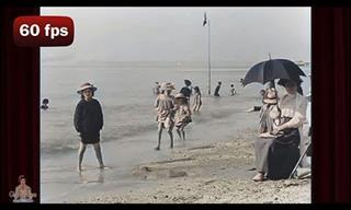 Spend a Relaxing Day at the Beach in France… In 1899!