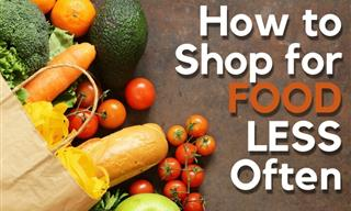 8 Tricks to Help You Go Grocery Shopping Less Often