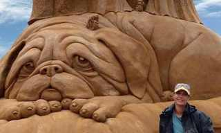 Increadible Sand Sculptures by Susan Russel