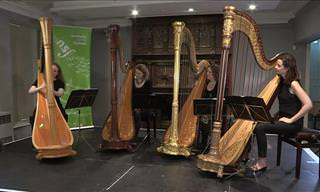 Amazing! These Women Play the Harp Like No Others!
