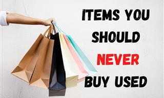 10 Items You Should Never Buy Used