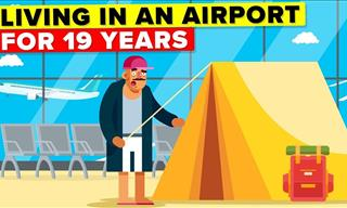 This Man Has Taken Refuge in an Airport for 19 Years