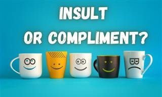 QUIZ:  Are We Insulting or Complimentary?