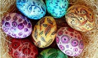 Amazingly Creative Easter Eggs