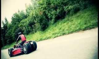 Crazy Vehicles: The Wazuma Quad V8!