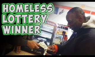 The Homeless Man and the Lottery Ticket.