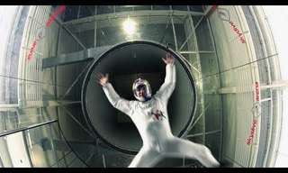 Wind Tunnel Acrobatics - Nothing You've Seen Before!