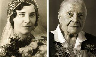 Centenarians When They Were Young and at Present