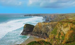 Cornwall Coast: Where the Blue Sea Meets Rolling Hills
