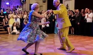 Smile as These 2 Prove You're Never Too Old to Dance!