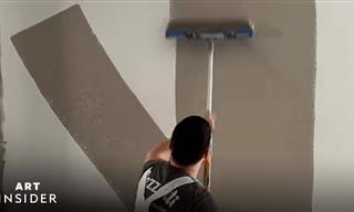 A Simple Trick For Painting Walls Twice As FAST!