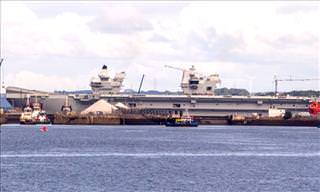HMS Queen Elizabeth - The Royal Navy's Largest-Ever Ship