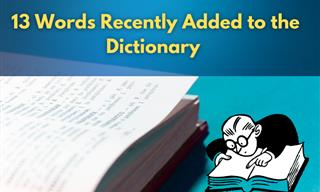 New Dictionary Words That Will Help Expand Your Vocabulary