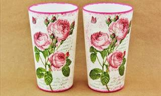 Learn the Beautiful Art of Decoupage!