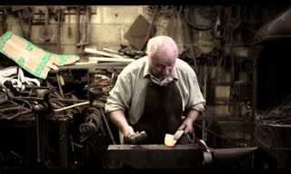 Oldest Blacksmith Still Working at 84!