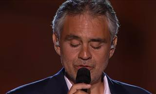 Listen to This Sublime Andrea Bocelli Performance!